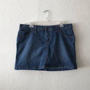 St. John's Bay 2in1 Denim Skirt with inside Shorts